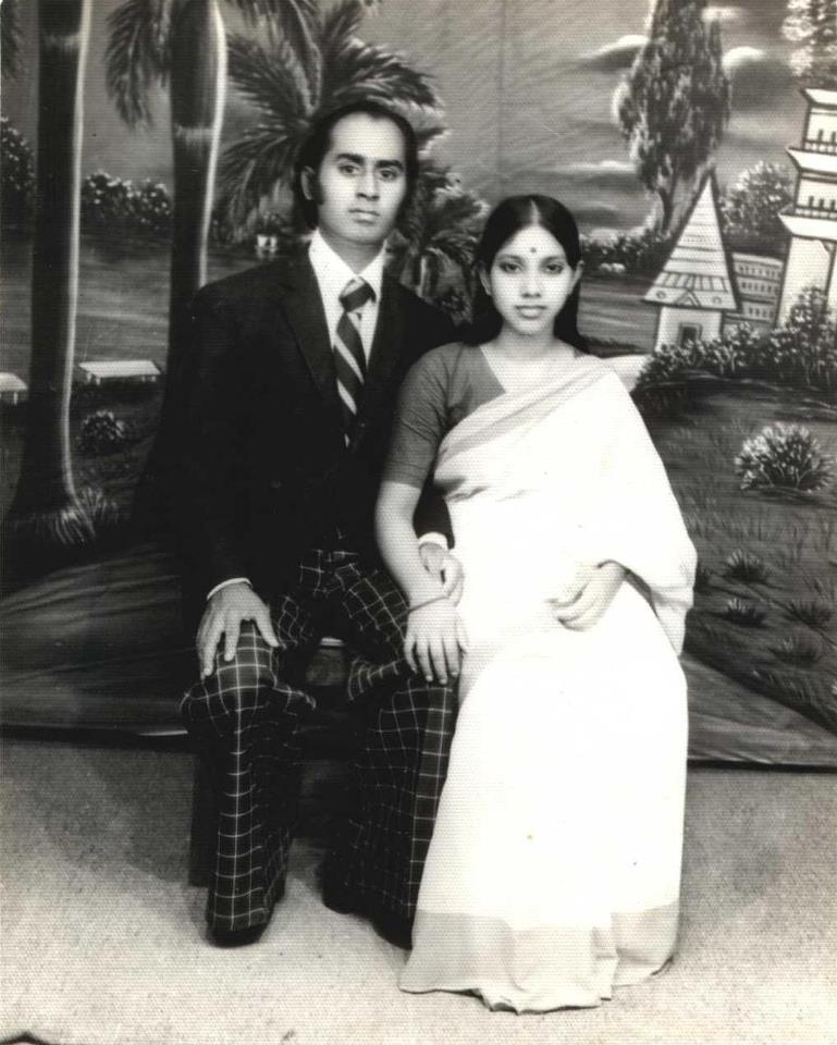 Parents of Tareq Salahuddin